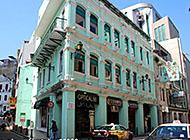 葡国风情澳门街道高清图片