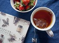 夏日午后焦糖红茶精美图片
