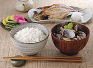 饱满香甜的米饭高清图片