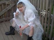 霸气的新娘雷人图片