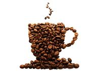 精致咖啡咖啡豆高清美食图片
