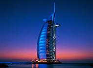 迪拜七星级帆船酒店壁纸图片