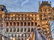 精选法国卢浮宫唯美风光壁纸