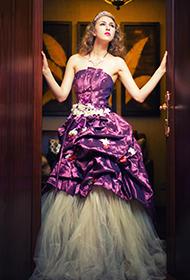 欧美美女唯美婚纱性感人体艺术照