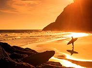 黄昏日落唯美自然风景图片