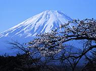 日本富士山的奇观高清桌面壁纸