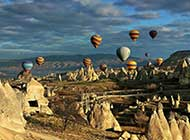 土耳其卡帕多西亚异国风情高清图片
