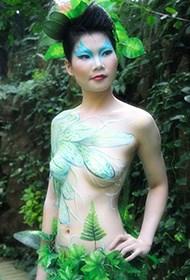 迷人的泰国美女人体艺术照片