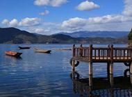 泸沽湖山水风景图片精选壁纸
