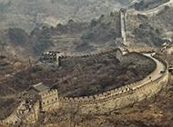 中国世界名胜古迹万里长城图片