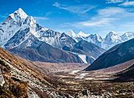 喜马拉雅山脉风光壁纸