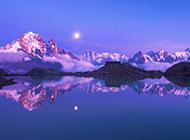 阿尔卑斯山四季美丽风光高清组图