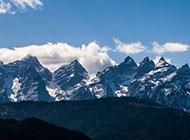 迷人十足的山川风景图片