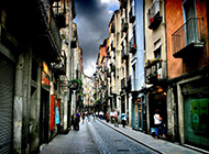 西班牙城市风景壁纸古典迷人