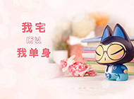 拽猫超萌图片之光棍节系列