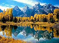 山青水秀自然风光美景图片