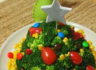 可爱的西兰花圣诞树