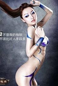 性感泰国美女人体艺术摄影
