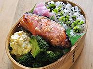 营养满分的日式便当盒