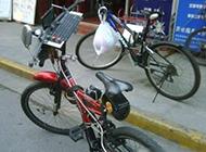 关于自行车的搞笑图片之高科技