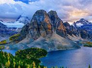 壮丽唯美的山川美景壁纸
