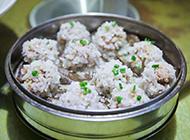 糯米排骨美食图片
