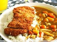 香喷喷的咖喱米饭图片