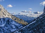雪山风景图片大全震撼自然美景壁纸