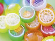 甜美糖果五彩缤纷唯美美食图片