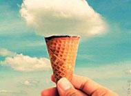 可爱搞怪图片之一个甜筒