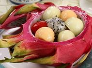 新鲜美味火龙果唯美高清图片