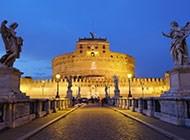 迷人的宫殿外景高清图片