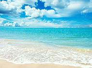 巴厘岛阳光沙滩风景美图