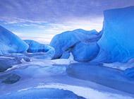 美丽的冰山雪景精美摄影壁纸