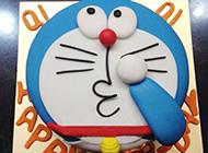 精美哆啦A梦卡通蛋糕图片欣赏