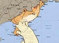 囧!搞笑内涵图之朝鲜地图