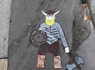 可爱有趣的街头艺术涂鸦图片
