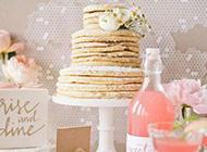 幸福甜蜜的婚礼甜点蛋糕图片