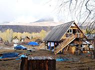 新疆深秋风景壁纸图片