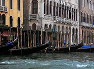精选威尼斯贡多拉小船唯美高清摄影图片