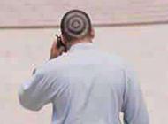 搞笑发型图片之销魂的螺旋头