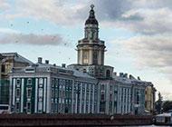 圣彼得堡涅瓦河高清风景素材