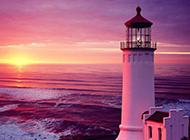 夕阳晚霞唯美意境风景图片壁纸