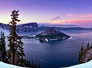 美丽梦幻的火山湖自然风景图集