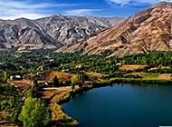古老神秘的伊朗美丽景色高清图片