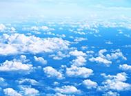 蓝天白云优美风景壁纸