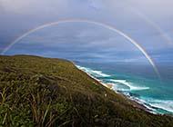 彩虹当空美景高清壁纸