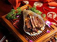 新疆特色塞外羊排食物图片