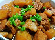 美味菜肴土豆炖猪肉图片