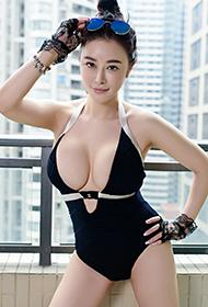 平面模特香港EVA室内时尚人体写真